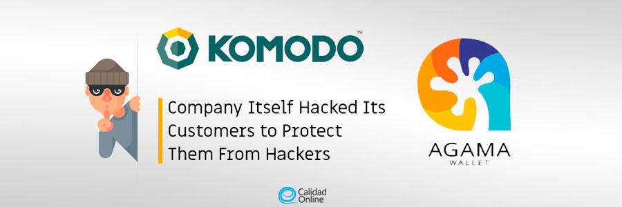 Komodo hackeaba a sus clientes para protegerlos de los piratas
