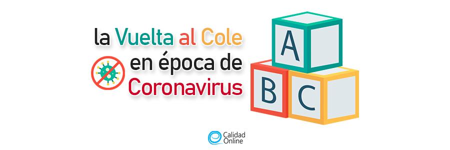 La Vuelta al Cole en época de Coronavirus