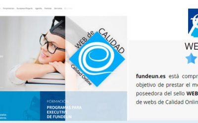 Nueva adhesión a Calidad Online, Fundeun.es
