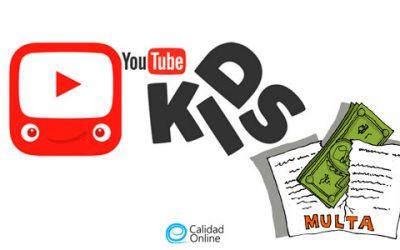 Regla COPPA, multan a Youtube por violar la privacidad de los niños