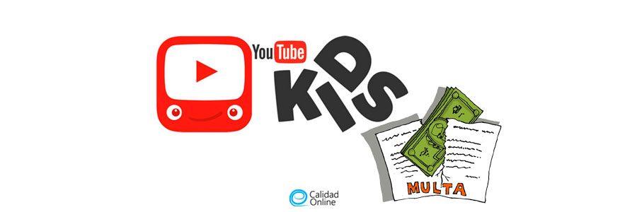 Regla COPPA, multa a Youtube violar privacidad niños ⛔