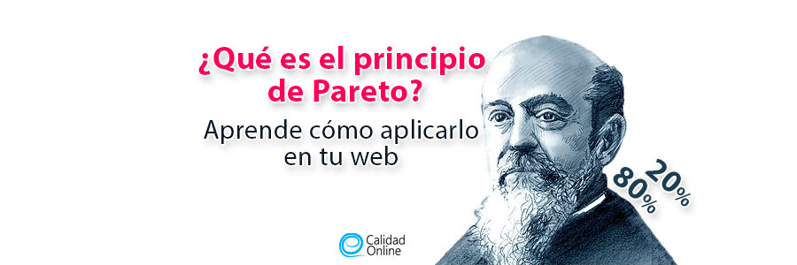 ¿Qué es el principio de Pareto? cómo aplicarlo en mi web