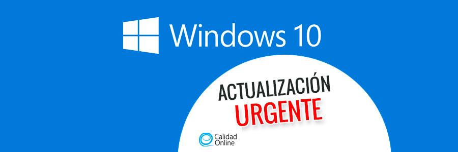 Actualiza Windows 10 urgentemente para parchear una fallo descubierto por la NSA